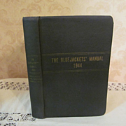 1944 The Bluejackets' Manual, United States Navy, Illustrated, Publ United States Naval Instit