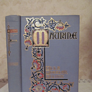 1901 Maurine and Other Poems by Ella Wheeler Wilcox, Photographic Life Studies,Illustrated, Pu