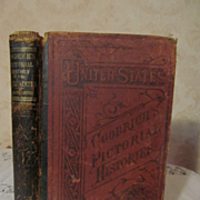1879 A Pictorial History of the United States by S G Goodrich, Illustrated Publ J H Butler & C