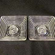 Manhattan, Anchor Hocking Candle Holders