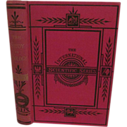 1895 The Study of Zoology, Crayfish, International Scientific Series by T H Huxley, Illustrate