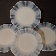 4 MacBeth Evans American Sweetheart Monax Bread & Butter Plates + 4 More