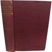 1904 Early Western Travels 1748-1846, Vol IV, Cuming's Tour, Publ Arthur H Clark ...