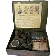 Yorkco Smoke and Ammonia Gas Mask with Instruction sheet & Metal Case
