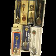 Seven Souvenir Spoons, States, World's Fair:National Park