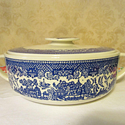 Blue Willow Royal China Covered Casserole
