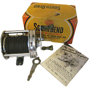 South Bend Perfectoreno Level Winding Reel #775 with Box. Key and Booklet