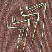 Metal Bank Pole, Rod & Reel Holders