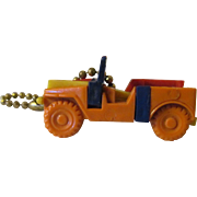 SOLD Jeep Plastic Put Together Take Apart Puzzle Keychain