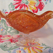 Imperial Marigold Carnival Scroll,Arch Bowl