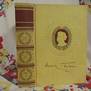 SOLD Mark Twain,Adventures of Tom Sawyer,Vol 1,American Artist Edition,1922