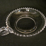 SOLD Imperial Candlewick Handled Dish