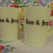 2 McKee Custard Tom & Jerry Mugs + 2 More