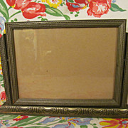 SOLD Pretty Wood Swing Picture Frame