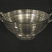 "Manhattan, Hocking 9"", Handled Bowl"