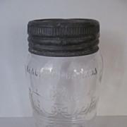 1949 Crown Canada Quart Canning Jar