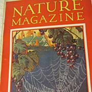 SOLD 1930 Nature Magazine, October,Vol 16, No 4
