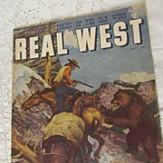 SOLD 1958 Real West, Authentic Stories of the Old West