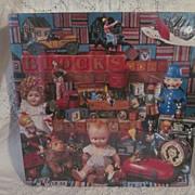 1988 Springbok, Hallmark Jigsaw Puzzle, Playthings from the Past,MIB