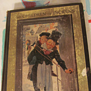 SOLD 1925 The Children of Dickens,Crothers, Illustrations by Smith
