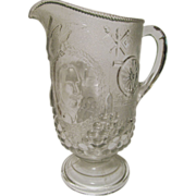 Admiral Dewey,USS Olympia,Spanish American War Commemorative Pitcher by Beatty-Brady