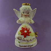 "Napco 4""  December Christmas Angel, C-1372"