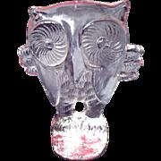 Erik Hoglund Kosta Boda Zoo Animal Owl Figurine