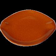 Roseville Raymor Terra Cotta Bread and Butter Plate #154