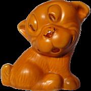 Vintage Wade Heath Flaxman Ware Bonzo Dog Figurine