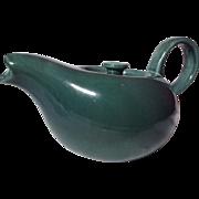 Vintage Russel Wright American Modern Teapot Seafoam Steubenville China