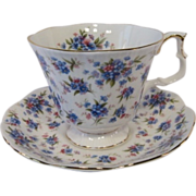 "Royal Albert Nell Gwynne Series ""COVENT GARDEN"" Tea Cup Set"