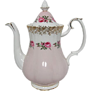 Royal Albert Brides Maid Pattern Coffee Pot
