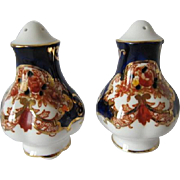 SALE PENDING Royal Albert HEIRLOOM Pattern Salt & Pepper Shakers