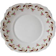 Crown Staffordshire WENTWORTH Pattern Cake Plate