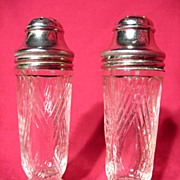 Hazel Atlas Starlight Salt And Pepper Shakers
