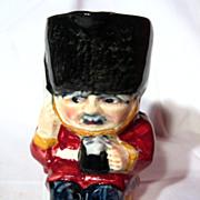 Vintage Shorter and Son Guardsman Character Jug
