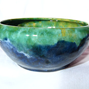 Medalta Polychrome Art Bowl ~ Model 36