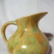 Crown Devon Polychrome Pitcher Vase