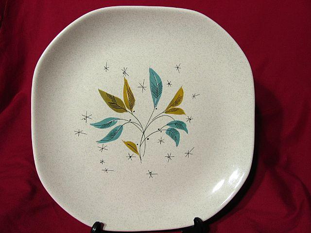 Sovereign Potters Modernist Vogue Chop Plate ~ Viktor Schreckengost