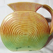 SylvaC Retro Slab Sided Pitcher ~ Model 1175
