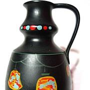 Brentleigh Ware Chinese Lantern Decorated Pitcher Vase ~ Tara