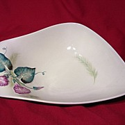 Carlton Ware Convolvulus Or Morning Glory Handled Dish ~ Model 2499