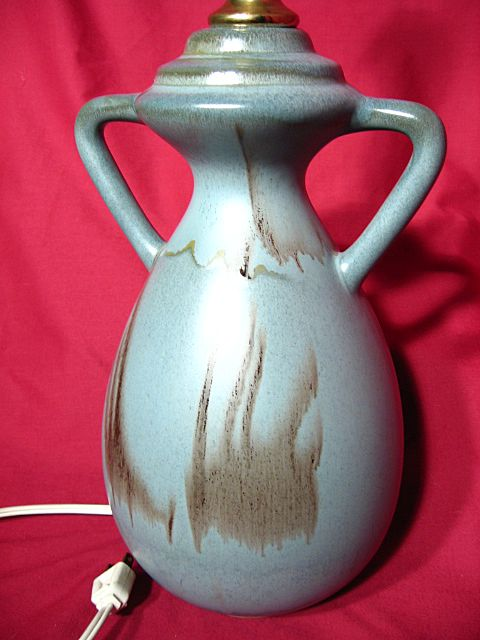 Blue Mountain Pottery Slate Glaze Table Lamp