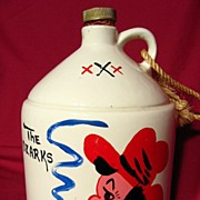 Parkcraft /Taneycomo Hillbilly Souvenir Liquor Jug ~ Gallon