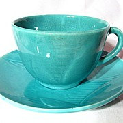 Red Wing Gypsy Trail Fondoso Two Coffee Cups With Three Saucers