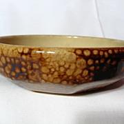 Medalta Art Deco Styled Low Bowl