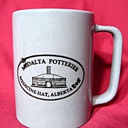 Medalta Pottery Coffee Mug