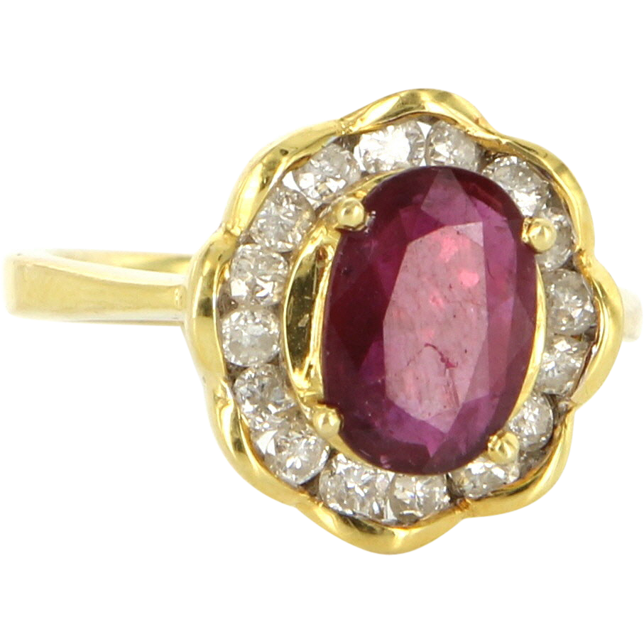 Ruby Cocktail Ring 96