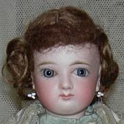 """All Original - Jumeau French Fashion Child - French Antique Doll - 14"""" - Kid Body - Origi"""