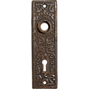 Antique Eastlake Doorplates, c. 1910